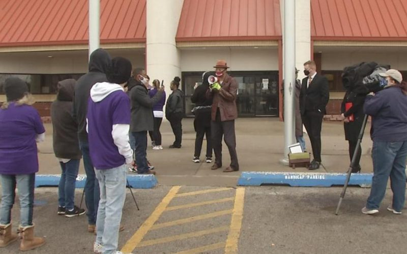 Citizens gather at OK County Jail to demand change - KOKH FOX25